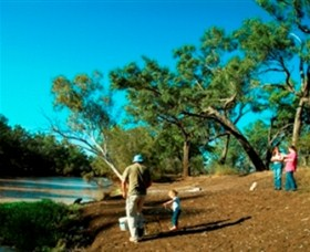 Charleville - Dillalah Warrego River Fishing Spot - Accommodation Find