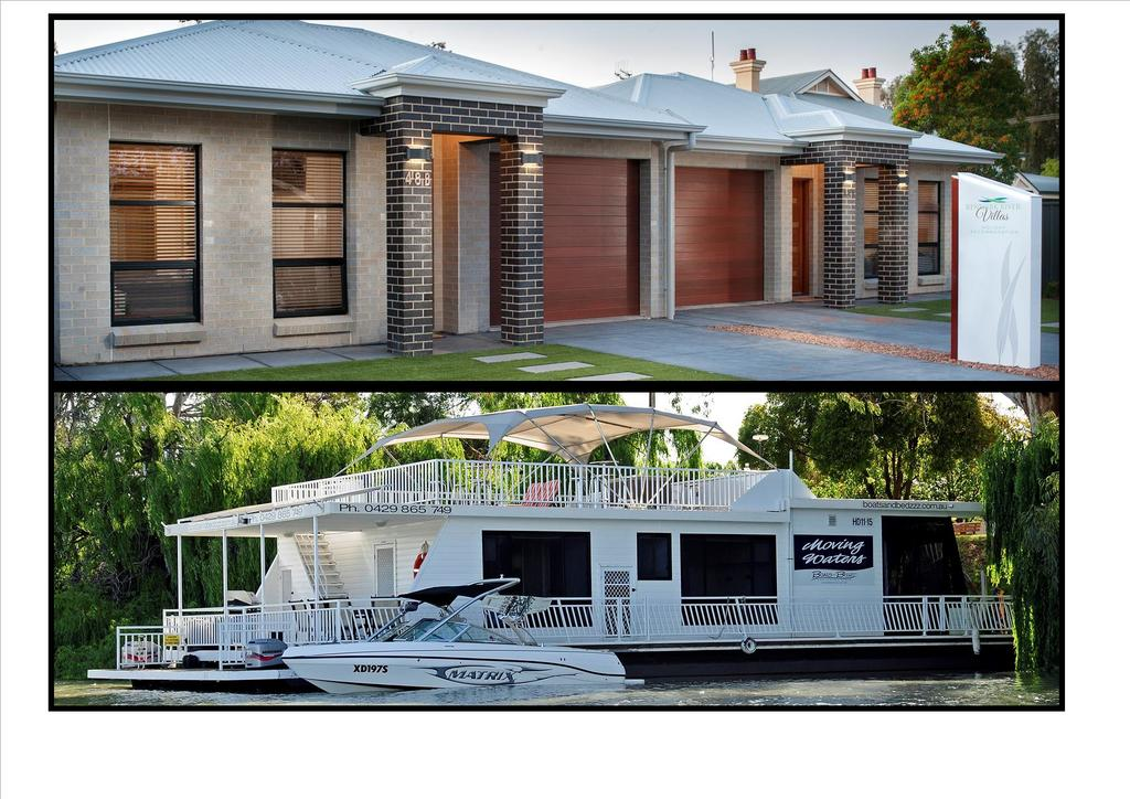 Renmark River Villas and Boats  Bedzzz - Accommodation Find